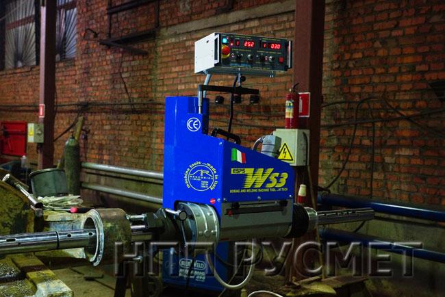 Комплекс WS 3 может растачивать отверстия диаметром от 37 мм до 600 мм