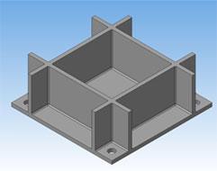 Закладная деталь, элемент стале-железо-бетонной конструкции
